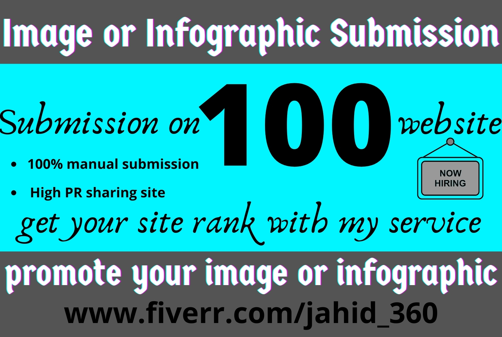 image or infographic submission in top 100 sites