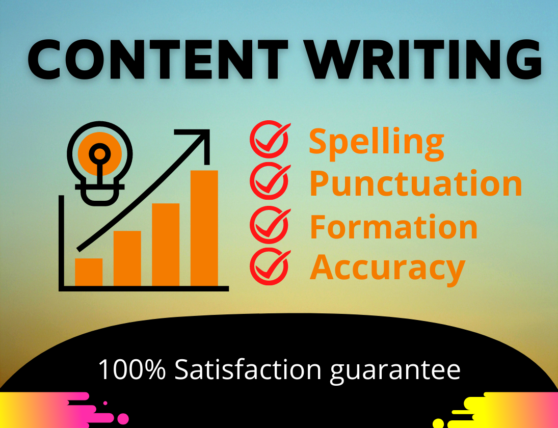 I will write SEO friendly content for your blog or website