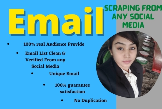 I will do b2b lead generation,  collect business leads and email list building