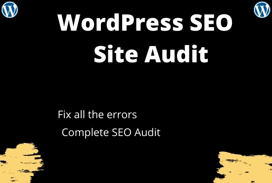 Do SEO Website Audit of your site
