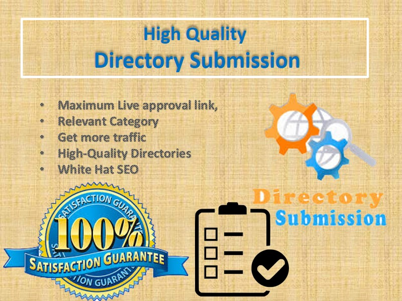 I Will Build 50 High Quality Directory Submission SEO Backlinks