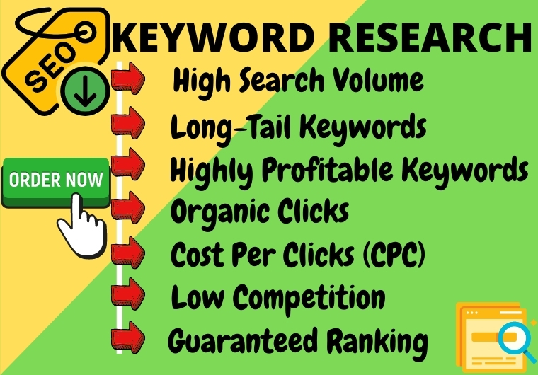 I will do keyword research to rank your website