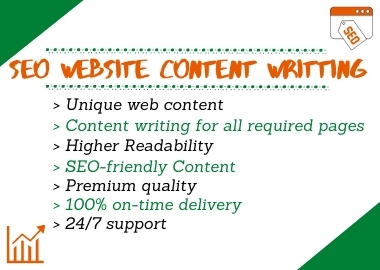 I will write 1200 words of SEO friendly content for your website.