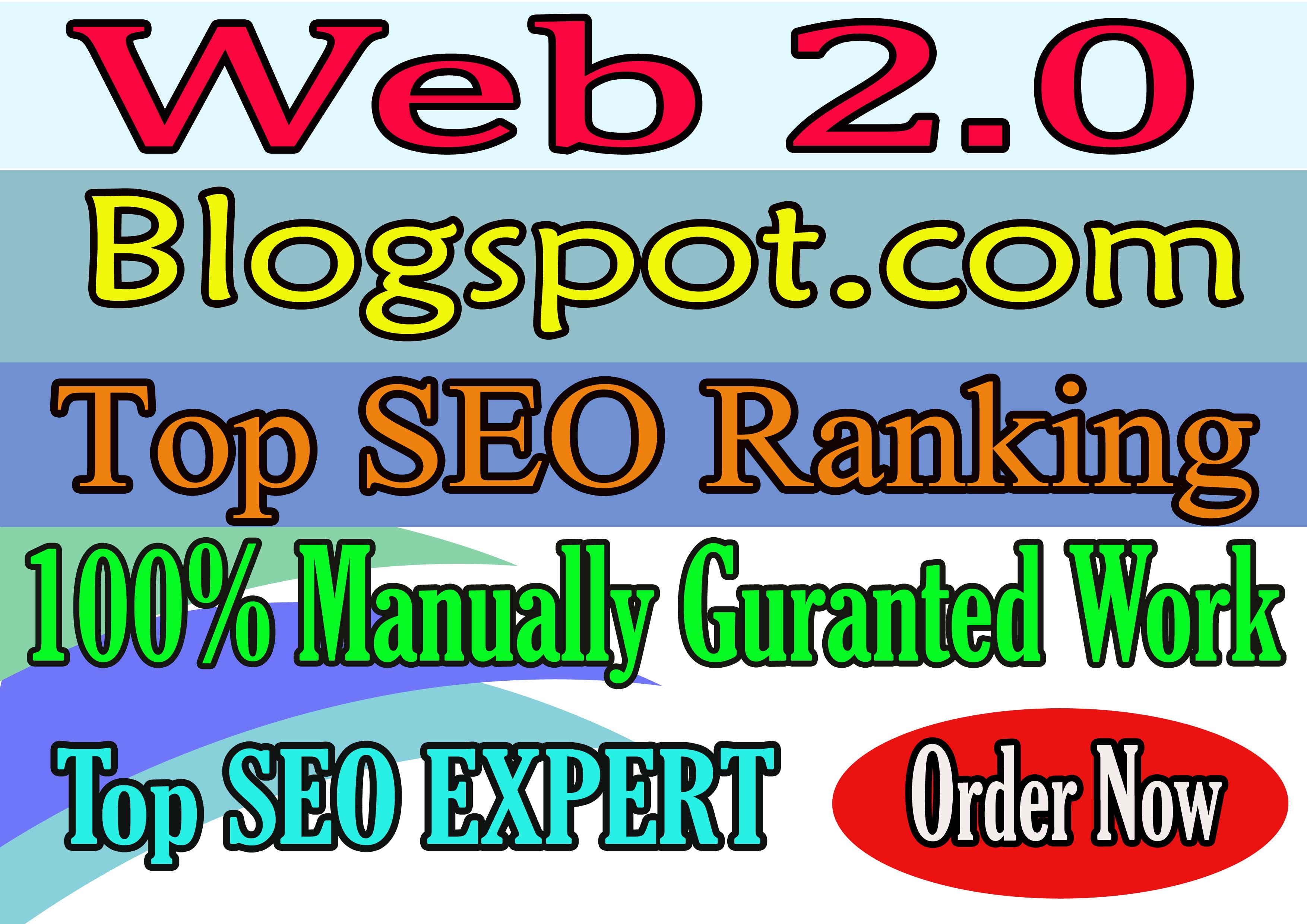 I will do web 2.0 backlinks professionally blogspots