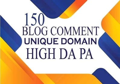 Do 150 Uniqe Domine blog comments backlink Do You Want To Skyrocket Your Website Rankings, Increas