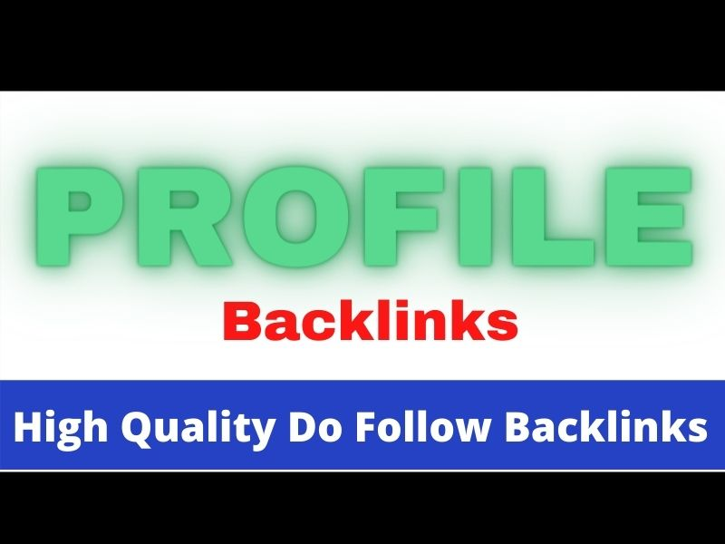 I will do 200 SEO Friendly high ranking profile backlink