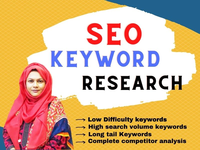 I will provide High Traffic SEO Keyword Research with compititor analysis