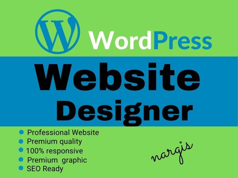 I will Design your best website