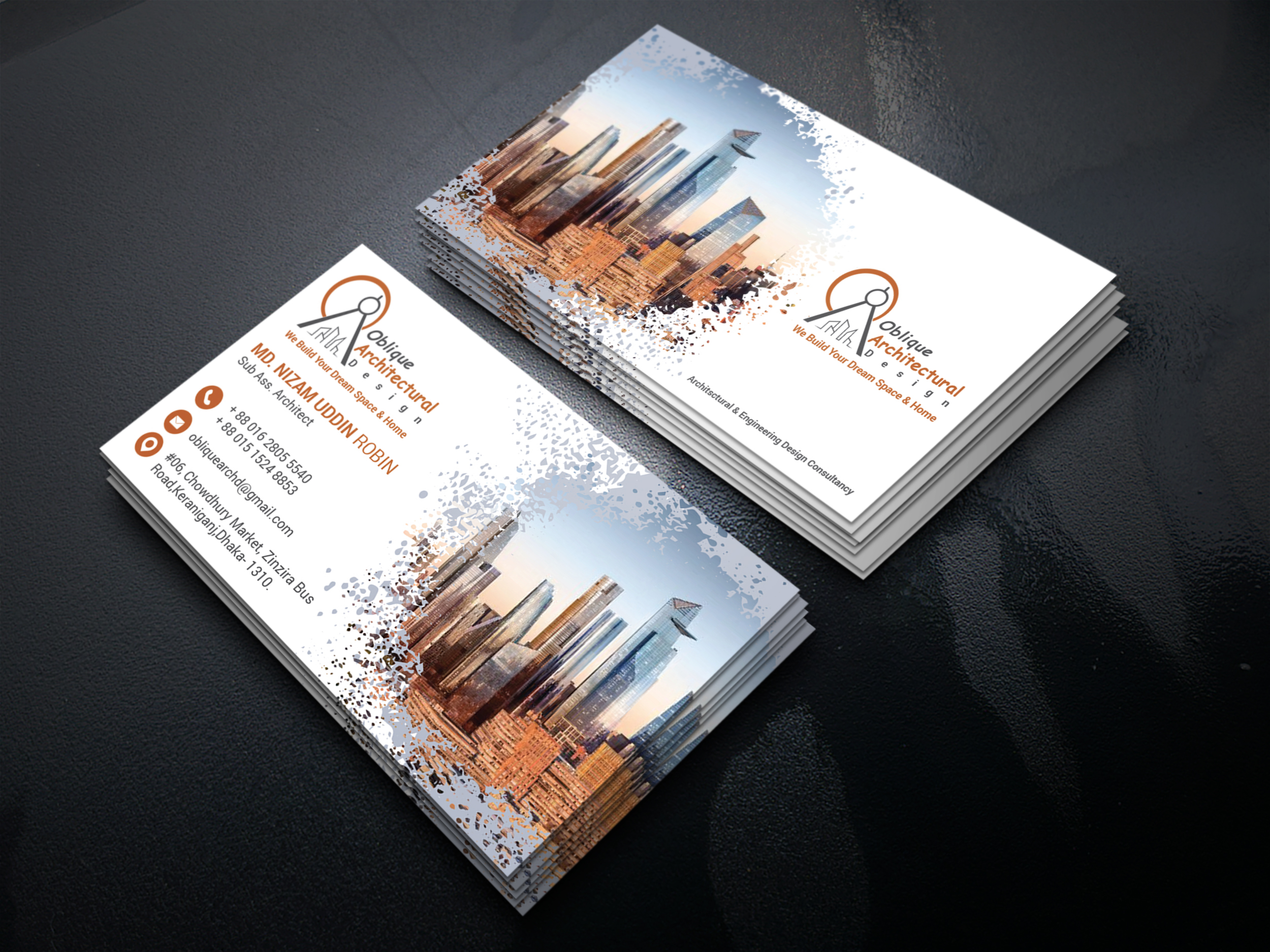 I will create Unique,  professional business card design