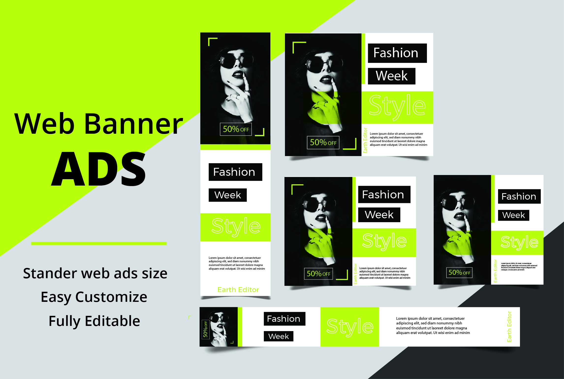 I will design eye catching web banner ads ,google ads for your business
