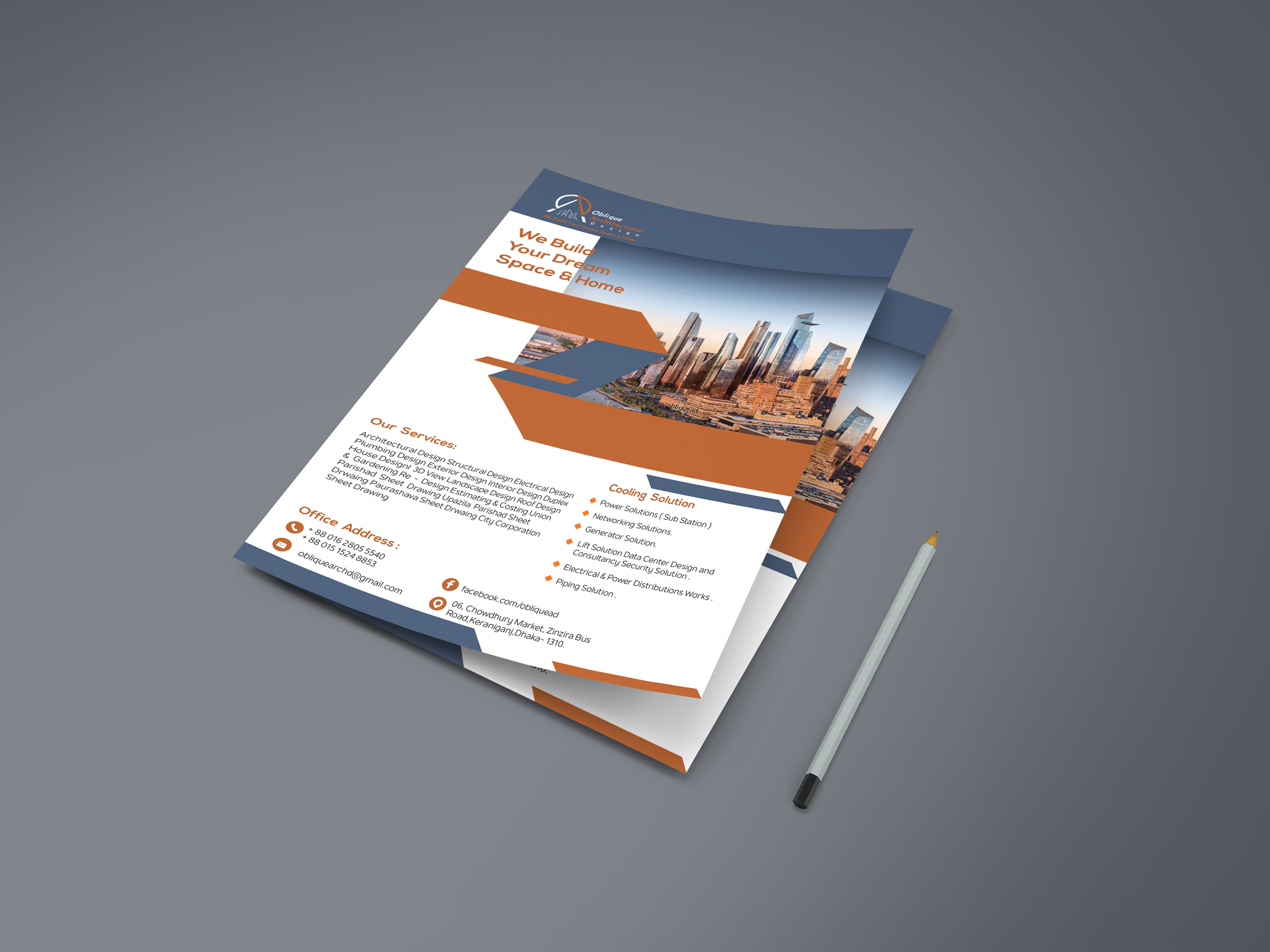 I will do effective professional posters, flyers, Brochure design for your Business.