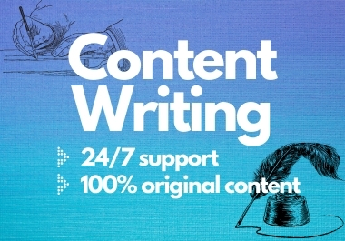 Write 650+ words of Premium Content Writing, Article Writing, Blog Post, Rewriting on any topic.