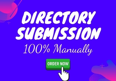 I will do 100 high-quality manually directory submission for local SEO