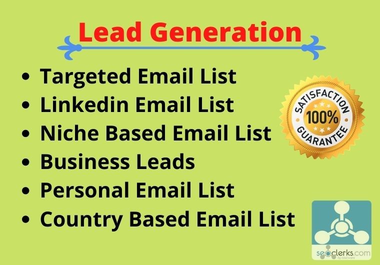 I will provide you targeted email list