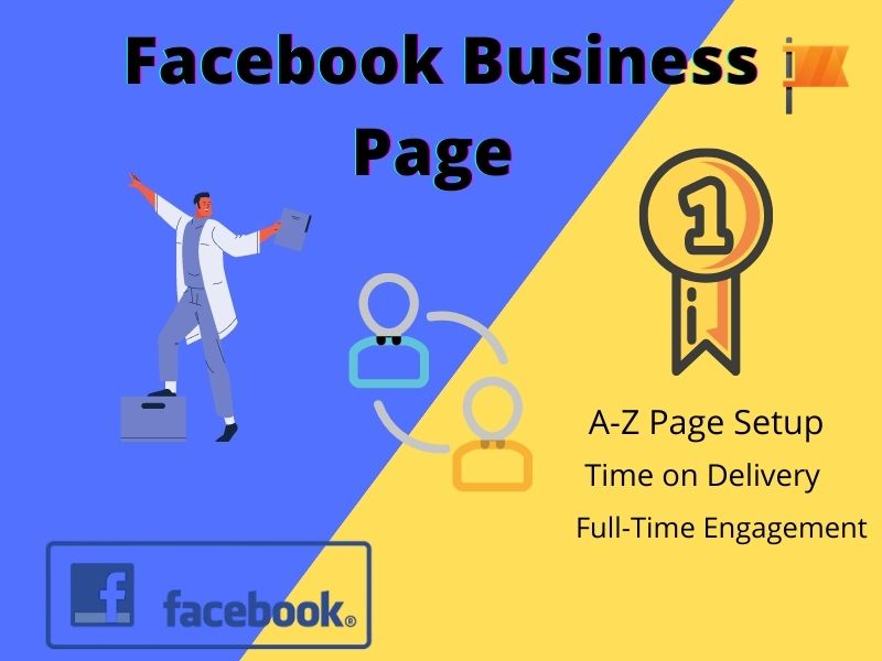 I will create a full Setup Facebook business page for you and help Growing Your Business