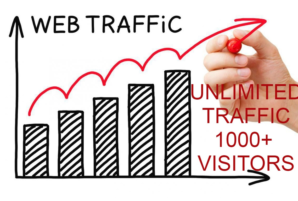 1000+ daily USA traffic for 30 days