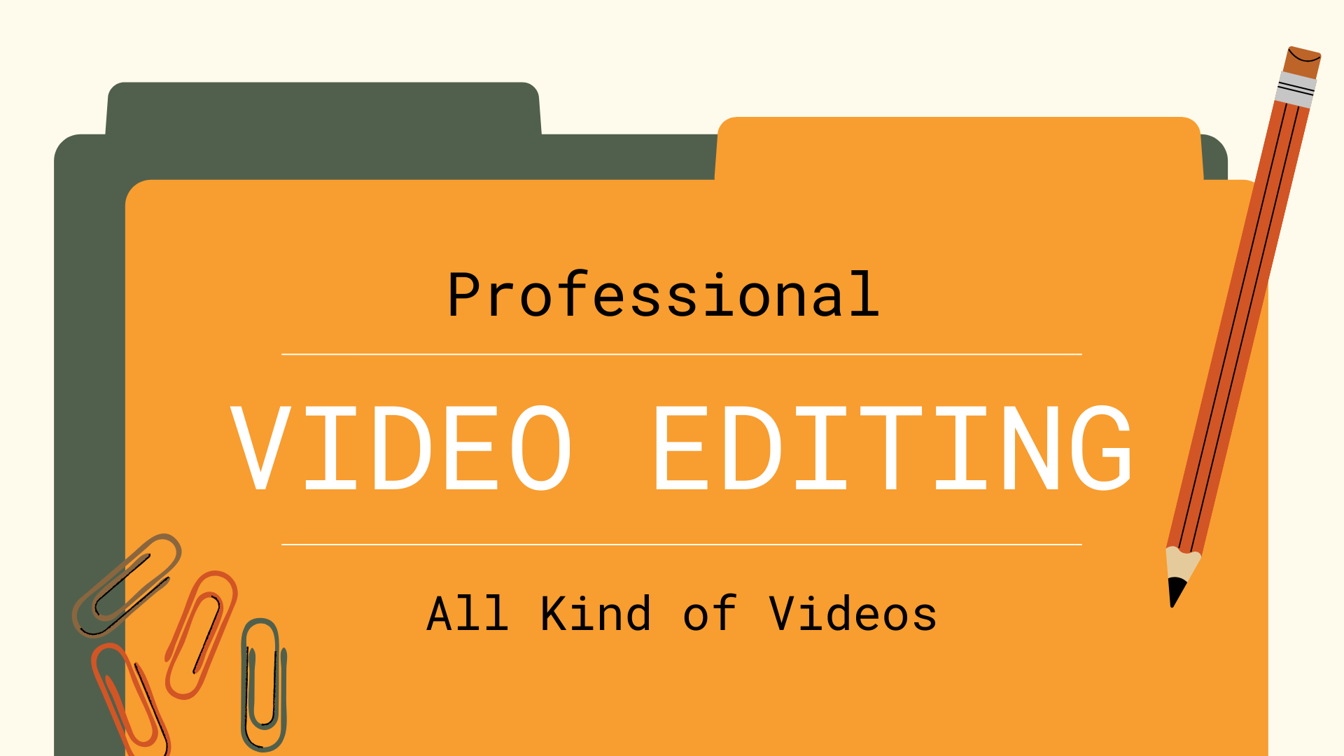 I will do professional video editing,  animation and video marketing