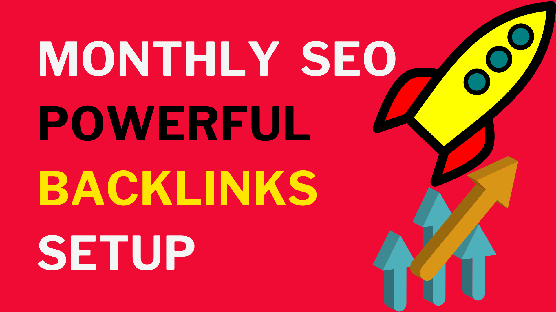 I will do Monthly SEO Service for 1st Page and Boost Ranking