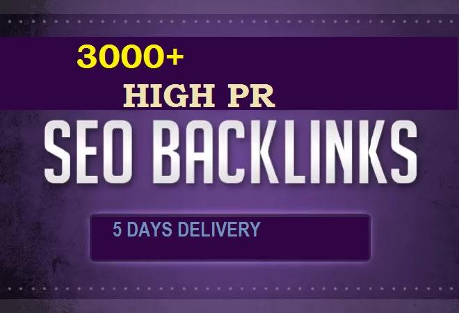 I will create for you 3000+ unique profile high pr seo backlinks