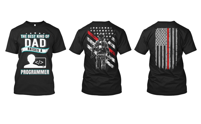 I will create amazing custom tshirt design