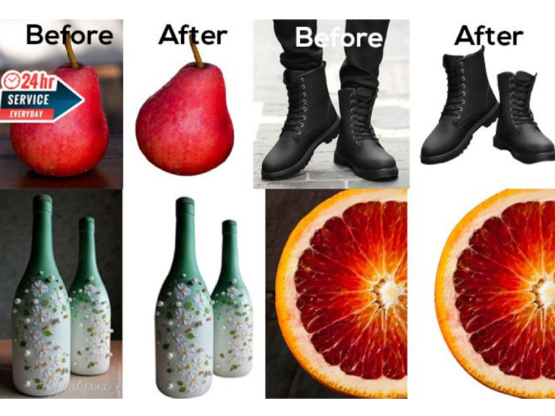 I will Image retouching & background remove