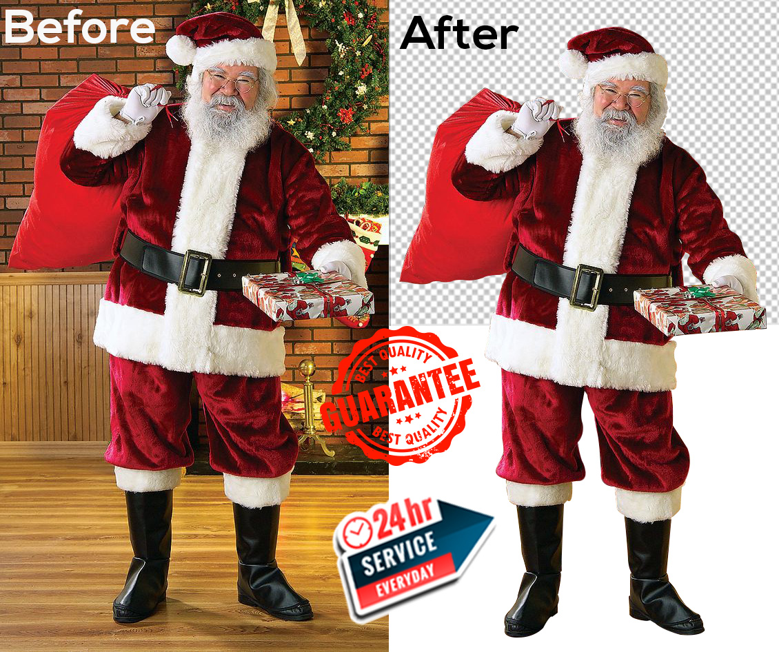 I will do 2 background remove with fast delivery