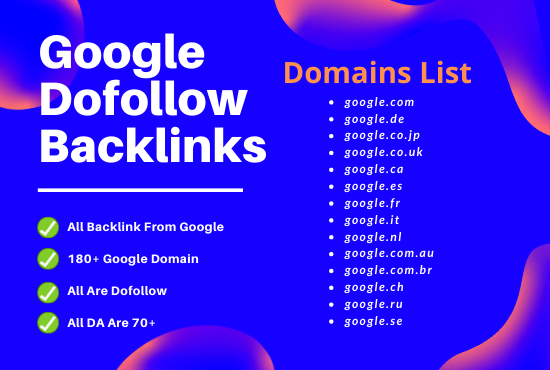 I will provide 150 google do follow backlinks for any niche