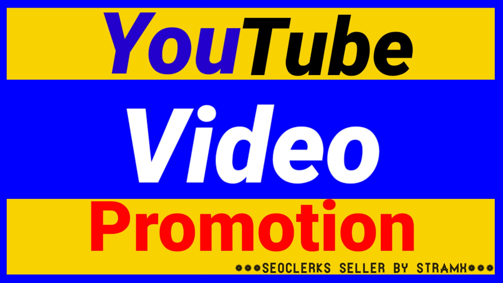 High Quality YouTube Video Promotion and Marketing fast Delivery 12 hours'