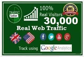 Real HQ 30000+ human worldwide website traffic