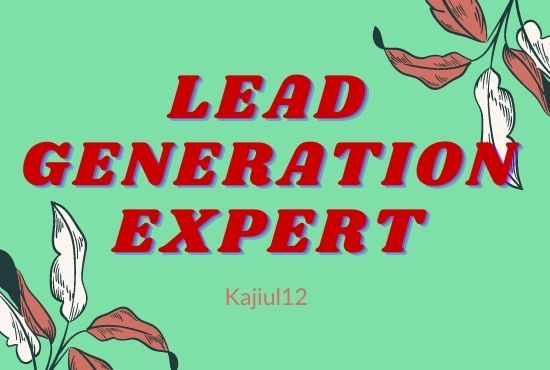 I will do b2b lead generation and targeted lead generation - 120 lead