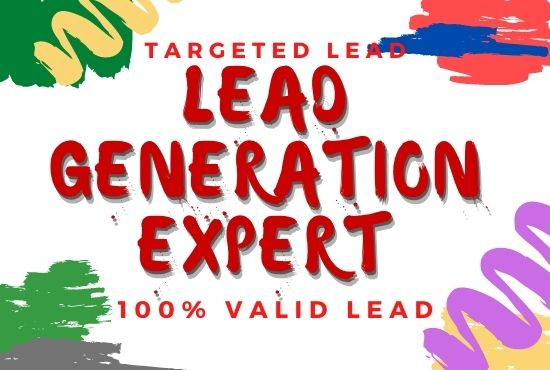 b2b lead generation and targeted lead generation - 50 lead