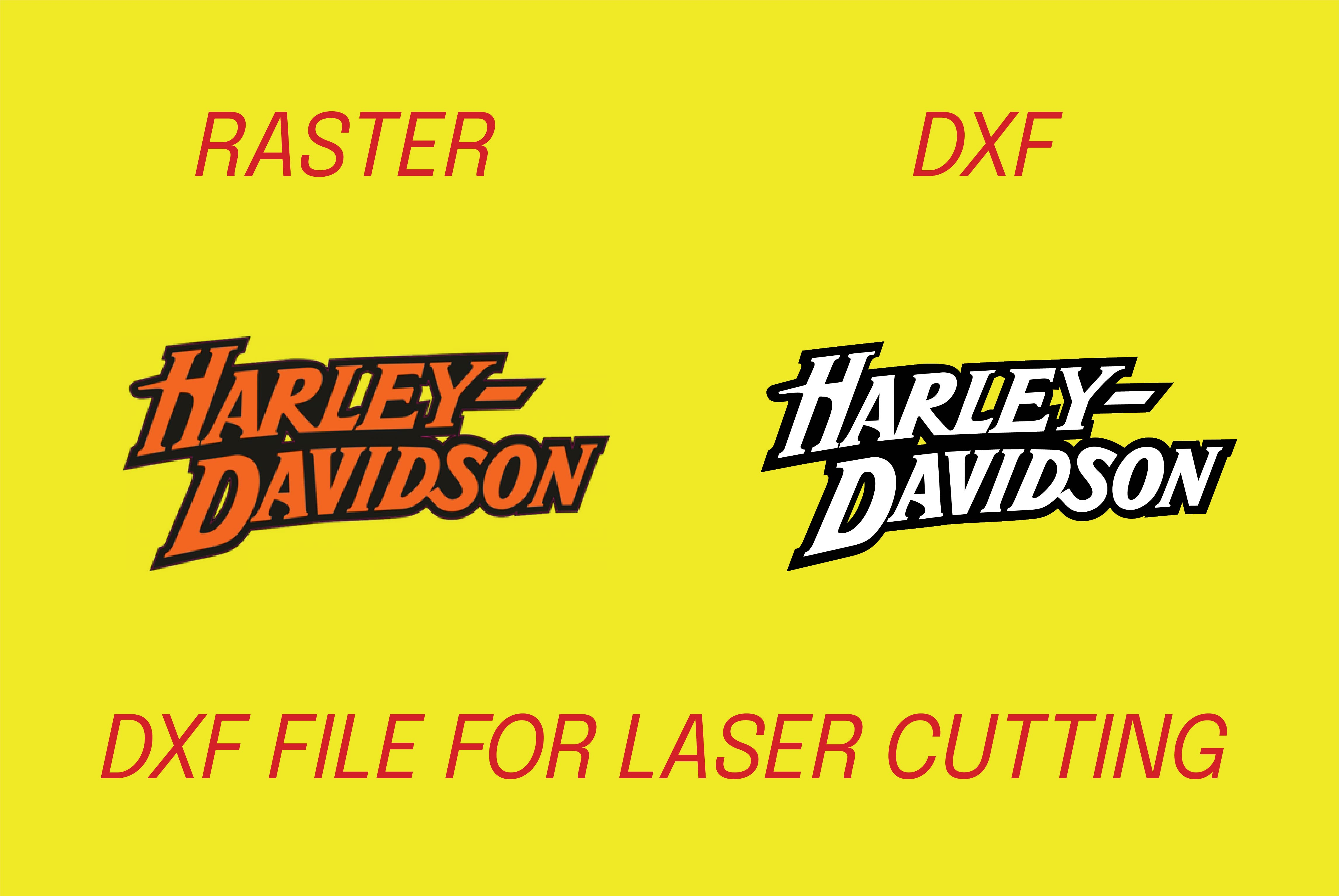 I will convert file into dxf for laser cutting