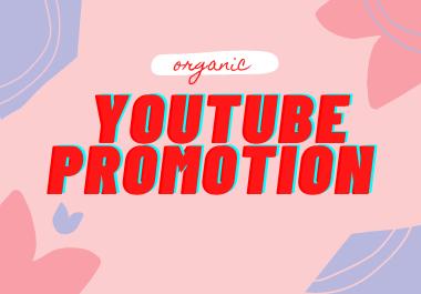 Organic youtube promotion marketing