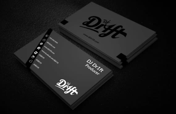 I will unique and luxury business card design