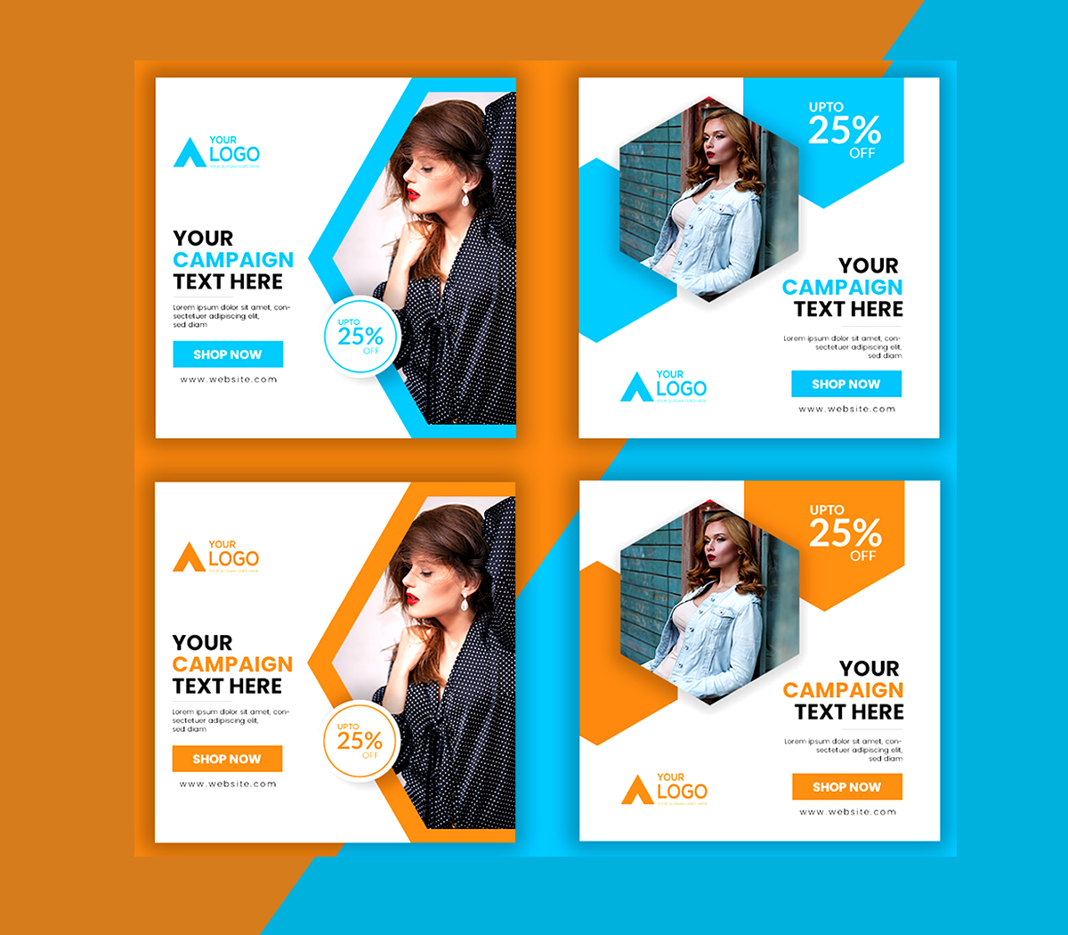 I will design social media post,cover,ads and banner for your services
