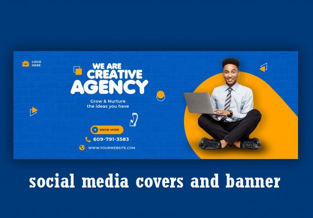 I will design social media cover,post,ads and banner for you