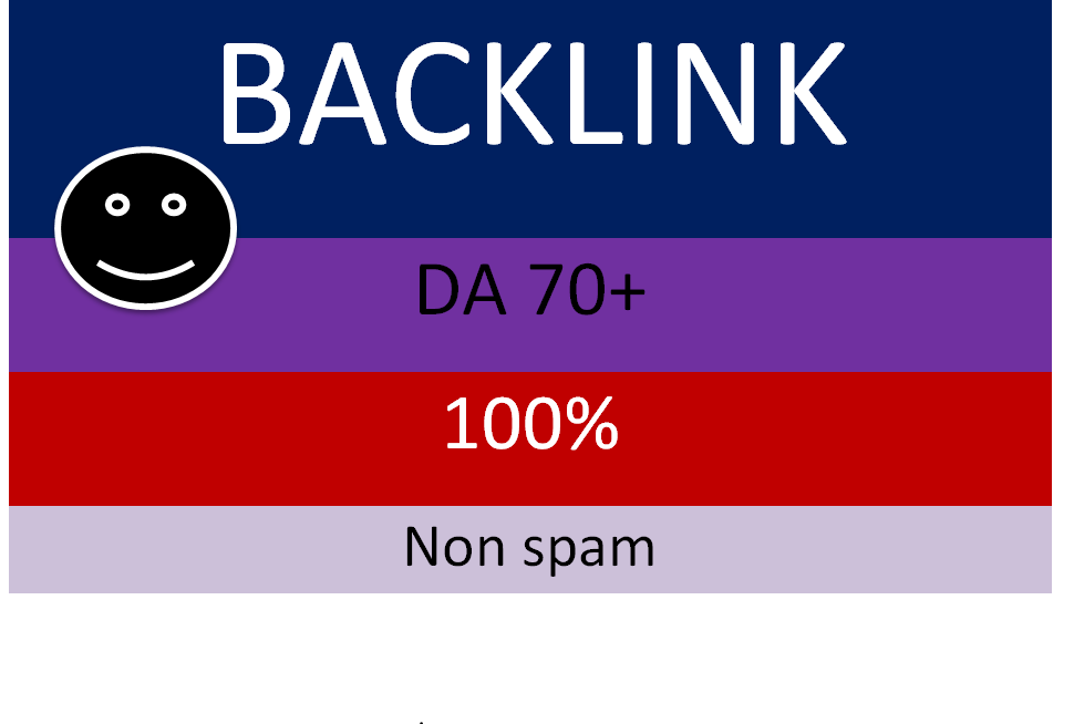 i will do high quality da 70 + 50 banklink service for you