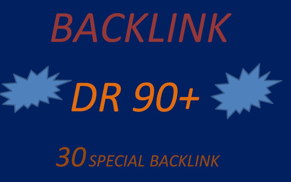i wii make dr 90+ 30 special backlink