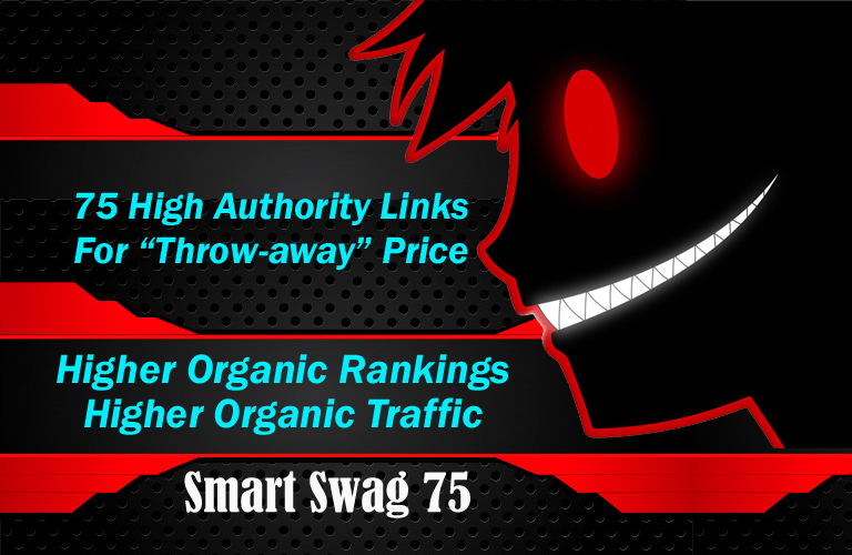 Get SMART SEO with 75 high Authority Backlinks - Smart Swag 75