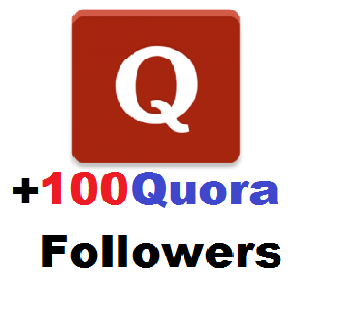 Send High Quality 100+ Quora Followers Delivery Within 24hours