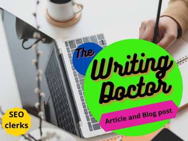 I Will Write Well Researched Articles,  Blog Posts,  and Site Content 1000+ words