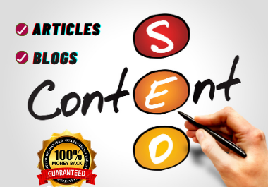 I Will Write 1500 Words SEO Optimized Blog Post,  Content Writer