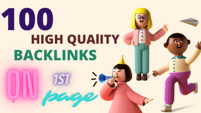 I will do create 80 permanent dofollow backlinks for off page seo