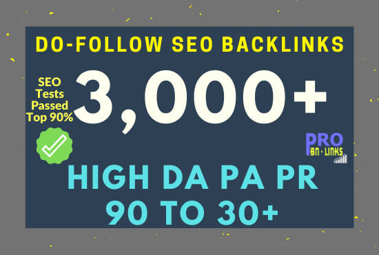 I will do build dofollow backlinks SEO service white hat link building