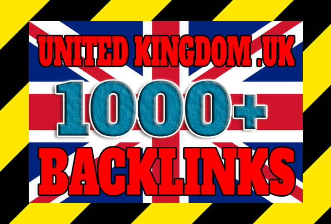 I will do create over 1000 united kingdom UK backlinks