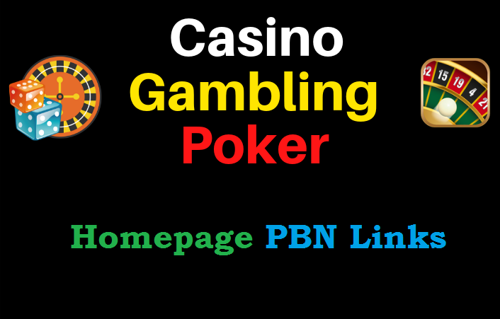 I Will Do Top quality 650 PLUS CASINO/ Poker/Gambling PBN Unique Backlinks