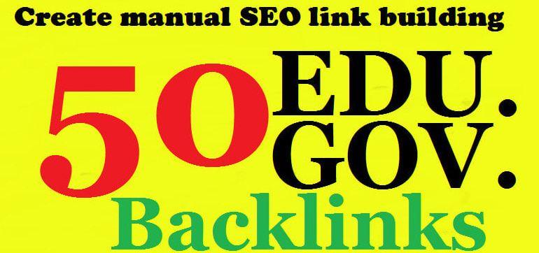 I will do 50HQ edu. gov. link building & backlinks for Adult site