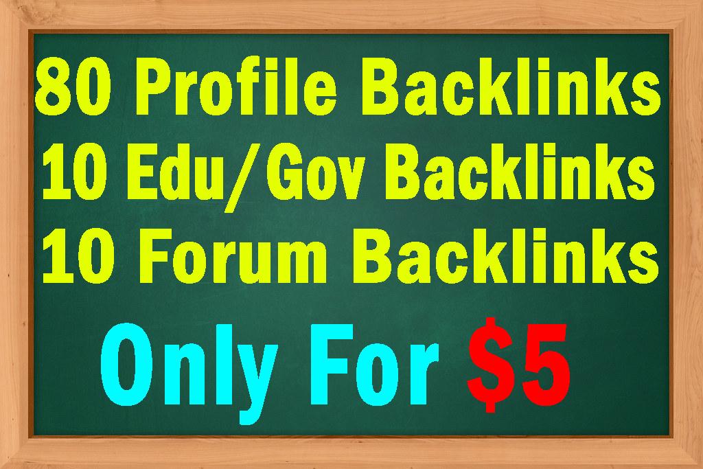 100 High DA 60+ SEO backlinks with Education and Forum Backlinks Bonus Manually