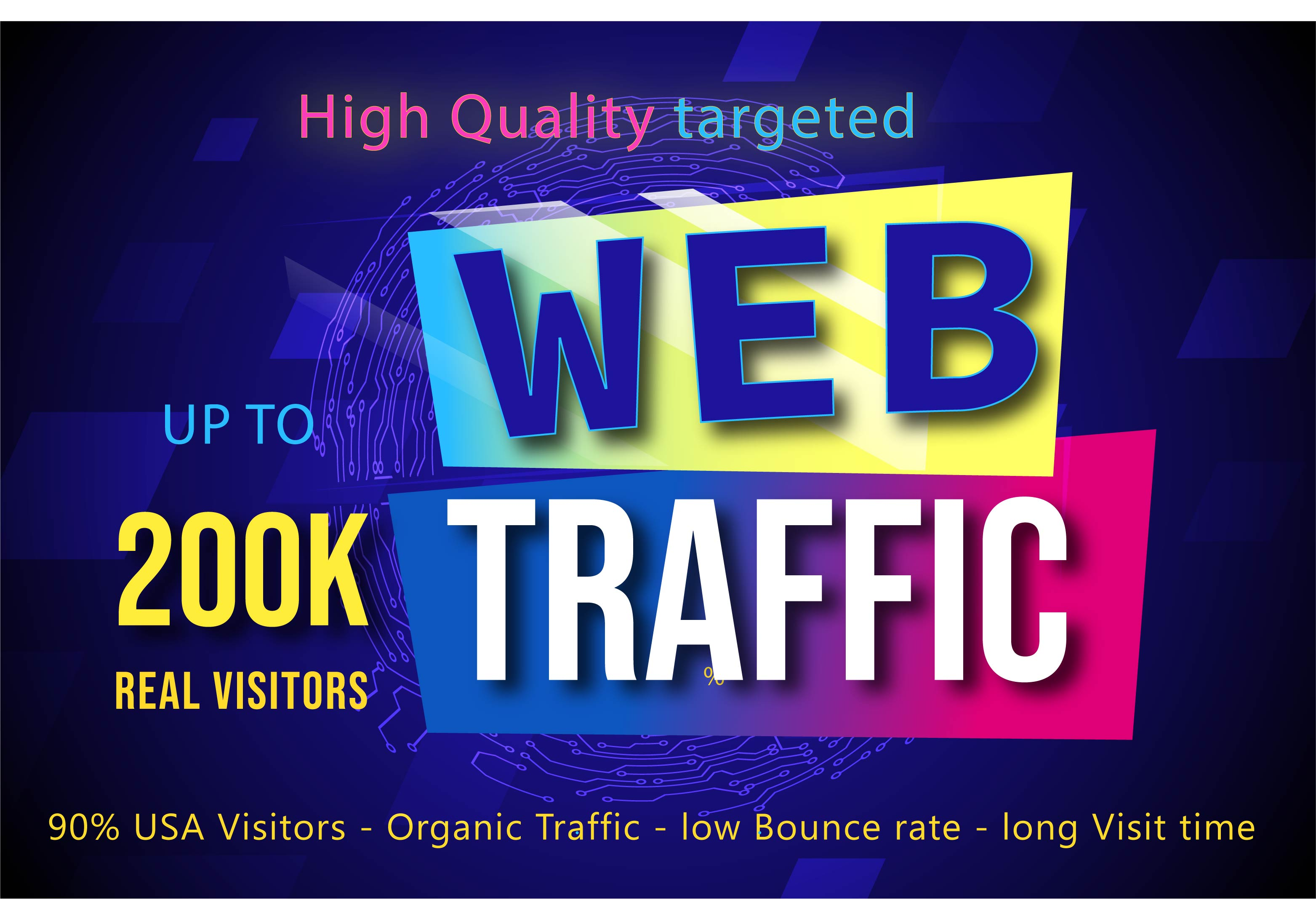 200k worldwide web traffic with rank your website