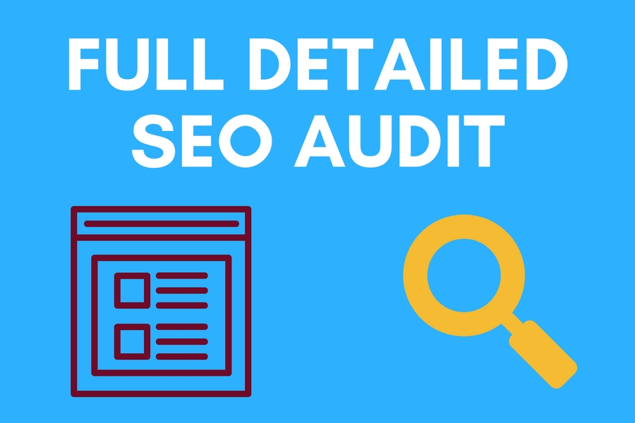 I will Create Professional Full SEO Audit Report for Your Website